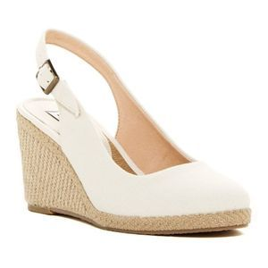 Dune London Karley Espadrille Wedge Pump Size 7.5